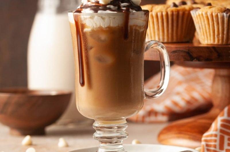 Iced White Chocolate Mocha (Starbucks Copycat)
