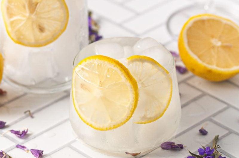 3 Ingredient Vodka Sour with Fresh Lemon