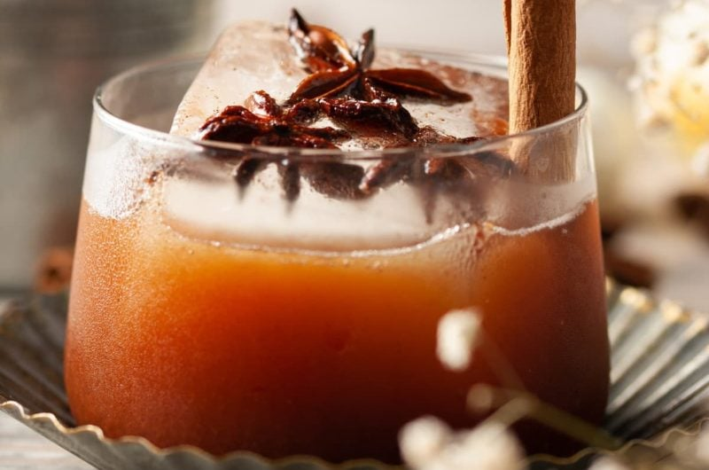 Simple Pumpkin Spice Old Fashioned
